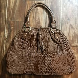 PAOLO MASI quilted leather bag